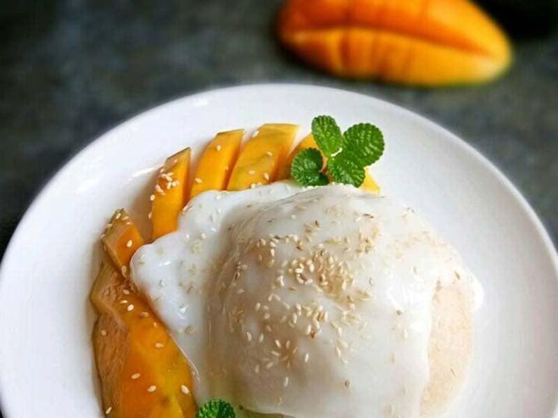 Mango sticky rice. Foto: Cookpad
