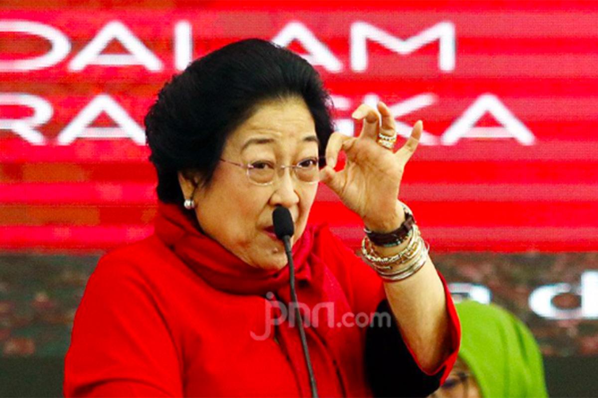 Ketua Dewan Pengarah BPIP yang juga Ketua Umum DPP PDI Perjuangan Megawati Soekarnoputri. Foto: Ricardo/JPNN.com/GenPI.co