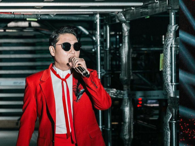 Penyanyi asal Korea Selatan, Psy. Foto: instagram @42psy42