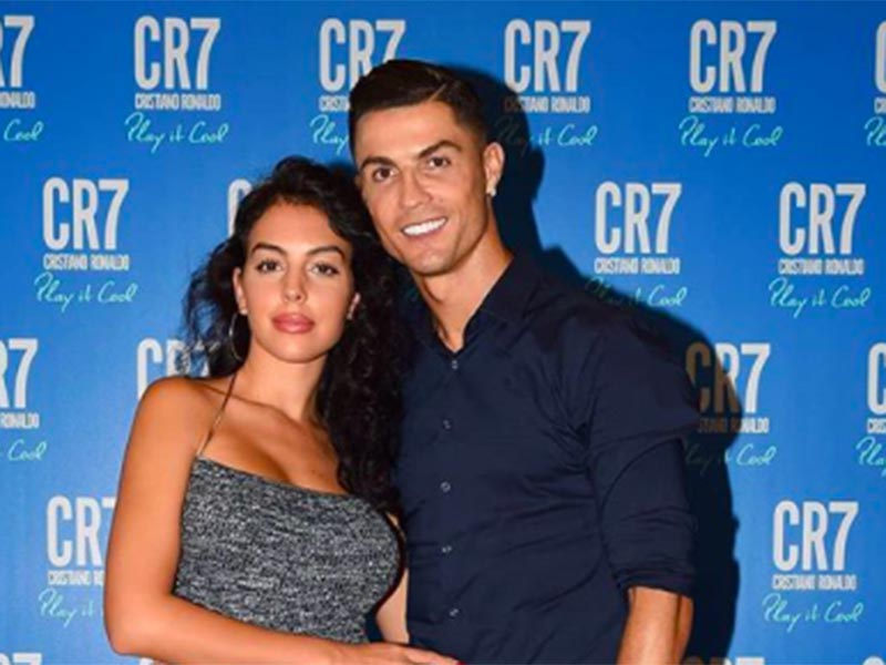 Georgina Rodriguez dan Cristiano Ronaldo. Foto: Instagram @georginagio