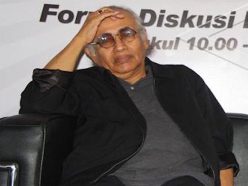 Guru Besar Universitas Pertahanan (Unhan) Prof Salim Said. Foto: Antara