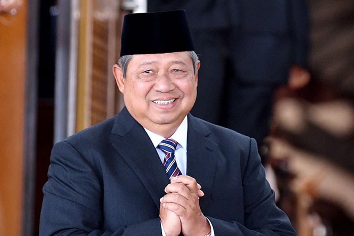 Ketua Majelis Tinggi Partai Demokrat Soesilo Bambang Yudhoyono (SBY). Foto: Antara/Abdu Faisal