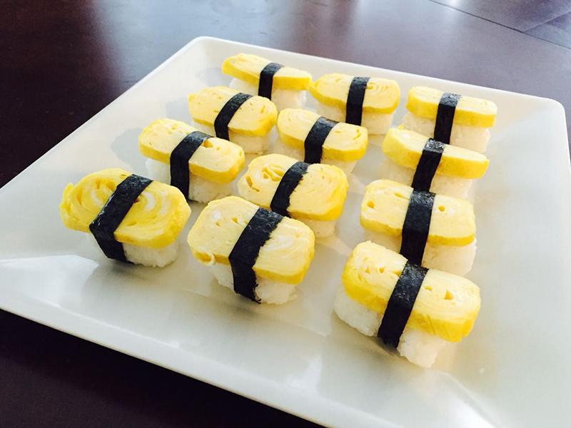 Tamago sushi. Foto: Pinterest