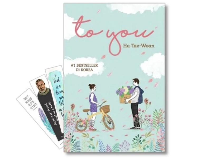 Buku To You karya Ha Tae Woan. Foto: Shopee