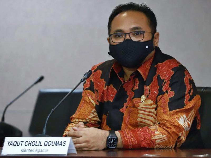 Menag Gus Yaqut soroti praktik jual beli jabatan di jajarannya. Foto: Dok Kemenag