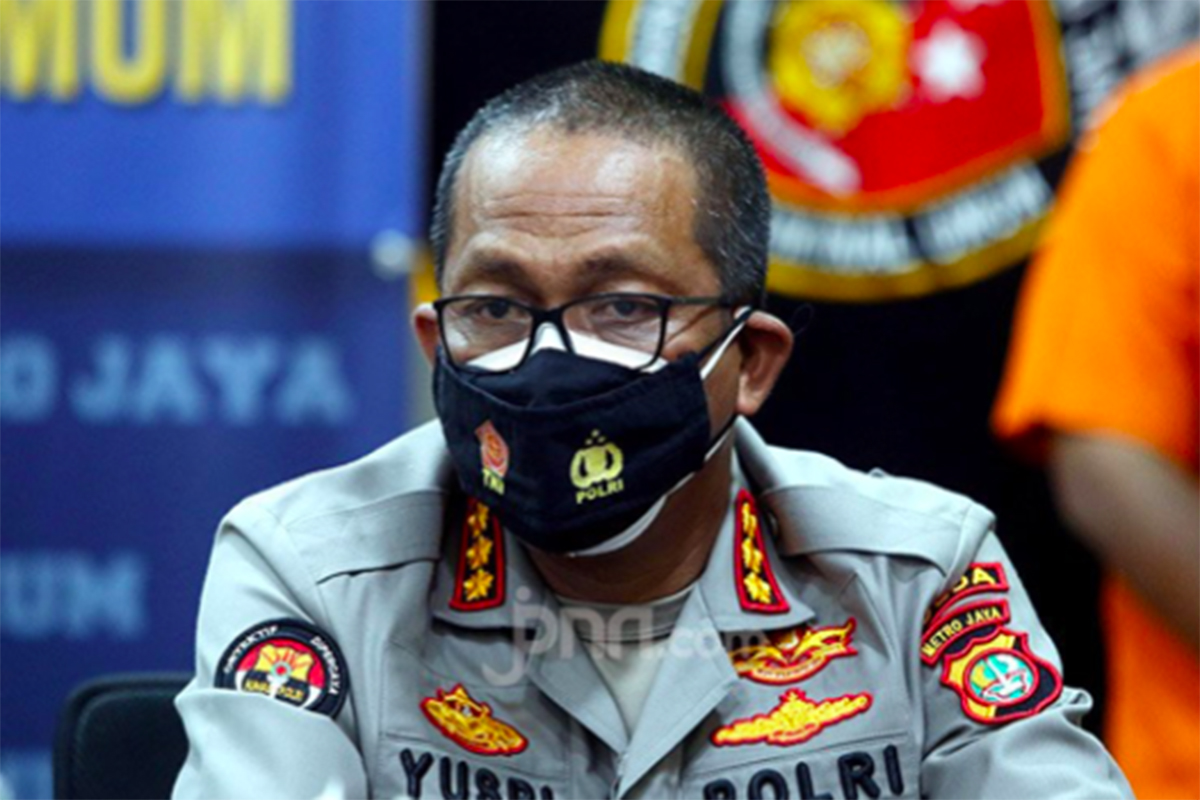 Kabid Humas Polda Metro Jaya Kombes Yusri Yunus. Foto: Ricardo/JPNN.com/GenPI.co