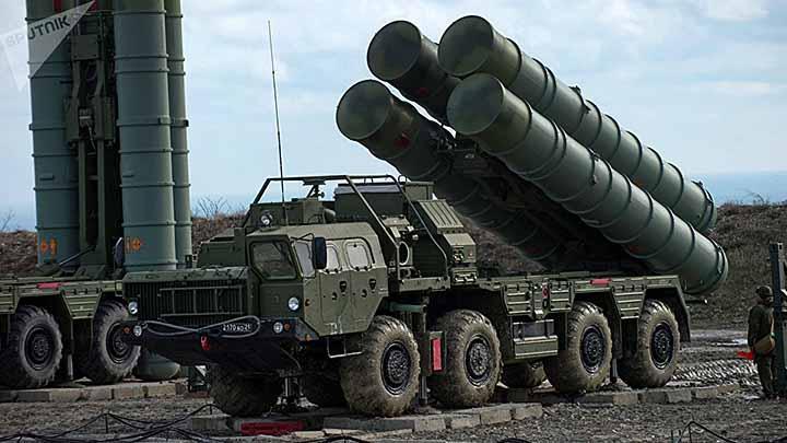 Rudal S-400. Foto: TASS