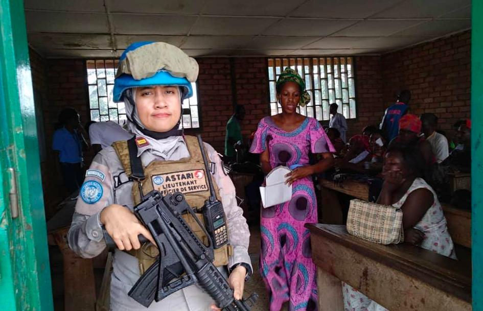 Wanita Hebat! Perjalanan Ade Astari Emban Misi Perdamaian Dunia. Foto: Ade Astari