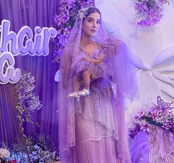 Mewah! Intip Momen Akikah Putri Tasya Farasya Serba Ungu Glamor