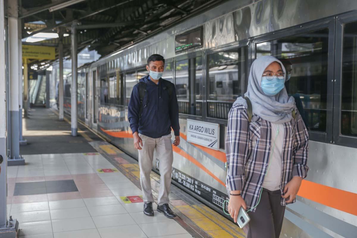 Ilustrasi – Penumpang Kereta Api.(Foto: Humas Daop VI Yogyakarta)