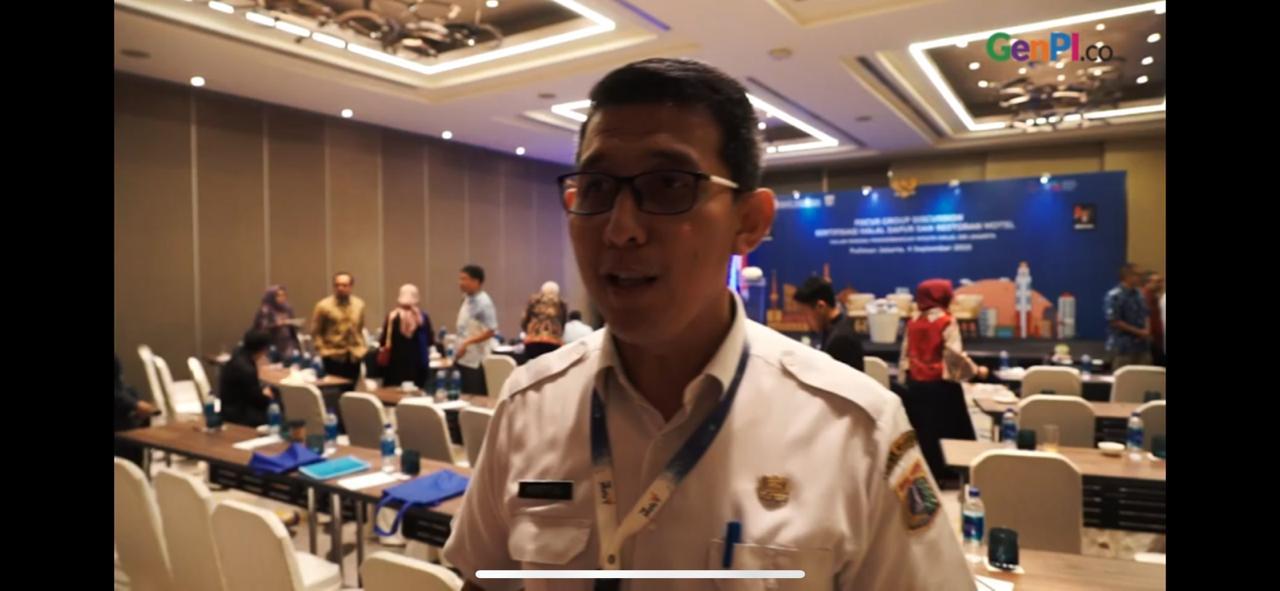 Alberto Ali, Kepala Bidang Informasi dan Pengembangan Dinas Pariwisata dan Kebudayaan DKI Jakarta. (Foto: Dok. GenPI.co)