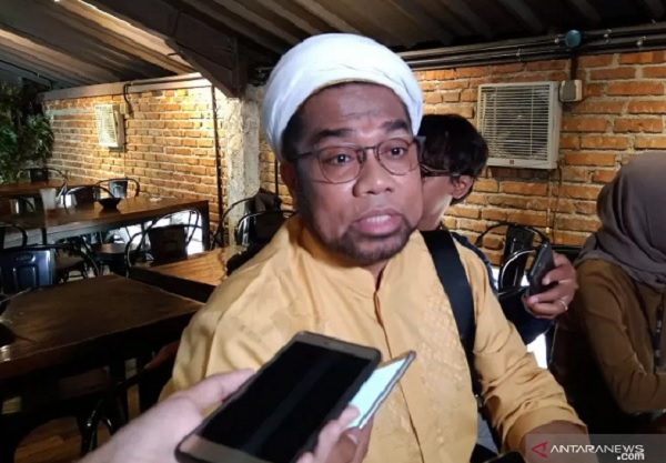 Otak Sungsang Ali Ngabalin Bikin Istana Terseret, Jokowi Harus..- Tenaga Ahli Utama KSP Ali Mochtar Ngabalin (Foto: Antara)
