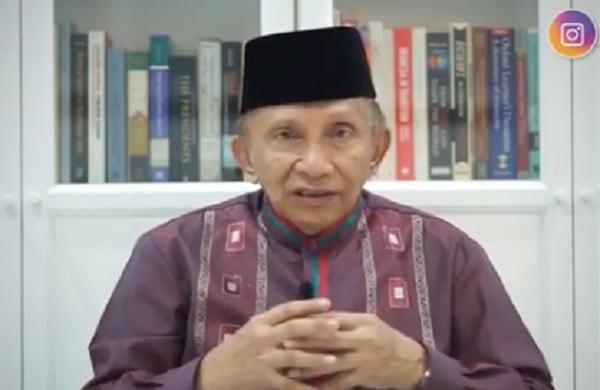 Pernyataan Amien Rais Bikin Jiwa Gemetaran, Istana Makin Panas