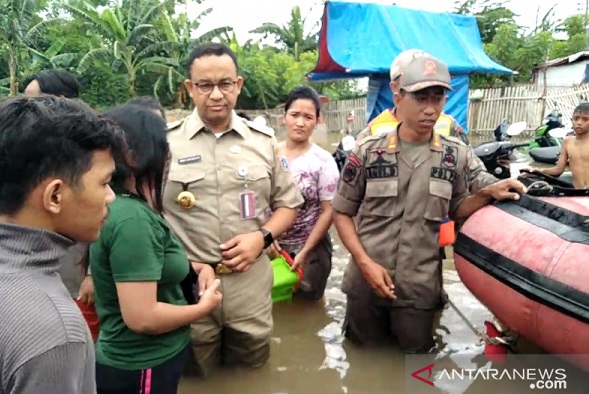 Eks Anak Buah SBY Bongkar Gubernur DKI Jakarta: Tangkap Anies! (Foto: dok Antara)