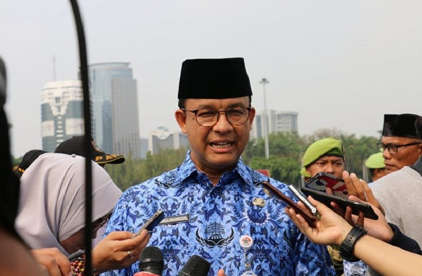Anies Baswedan. (Foto: ANTARA/HO/Humas Pemerintah Provinsi DKI Jakarta)