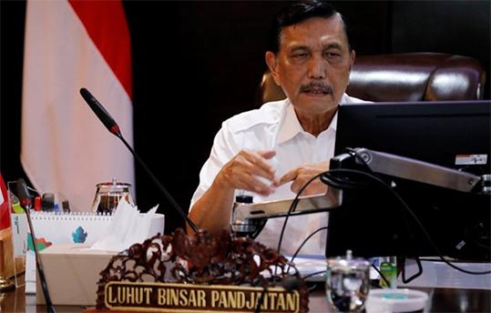 Menteri KKP ad interim Luhut Binsar Pandjaitan. ANTARA/HO-Kemenko Kemaritiman dan Investasi