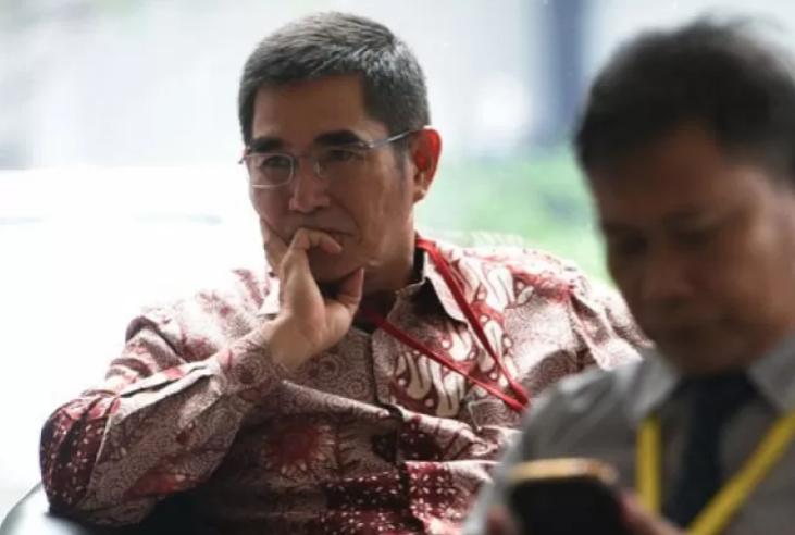 Mantan Ketua Mahkamah Konstitusi (MK) Hamdan Zoelva. (ANTARA/Sigid Kurniawan)