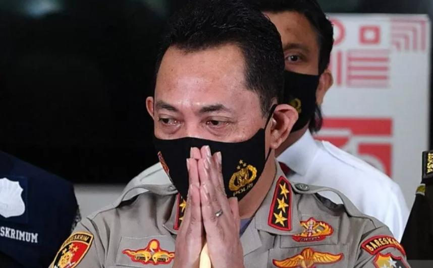 Kabareskrim Polri Komjen Pol Listyo Sigit Prabowo, calon tunggal Kapolri yang telah diajukan Presiden Jokowi ke DPR RI. (ANTARA /Sigid Kurniawan/Nz/aa)