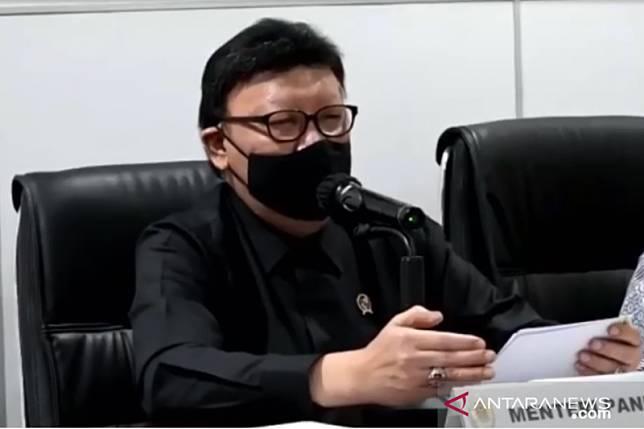 Menteri Pendayagunaan Aparatur Negara dan Reformasi Birokrasi (PAN-RB) Tjahjo Kumolo. ANTARA/HO-Humas Kemenpan-RB