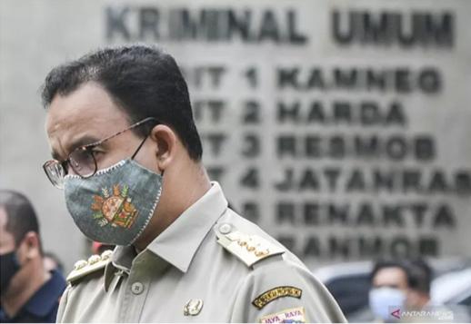Gubernur DKI Jakarta Anies Baswedan. ANTARA FOTO/Hafidz Mubarak A/wsj.