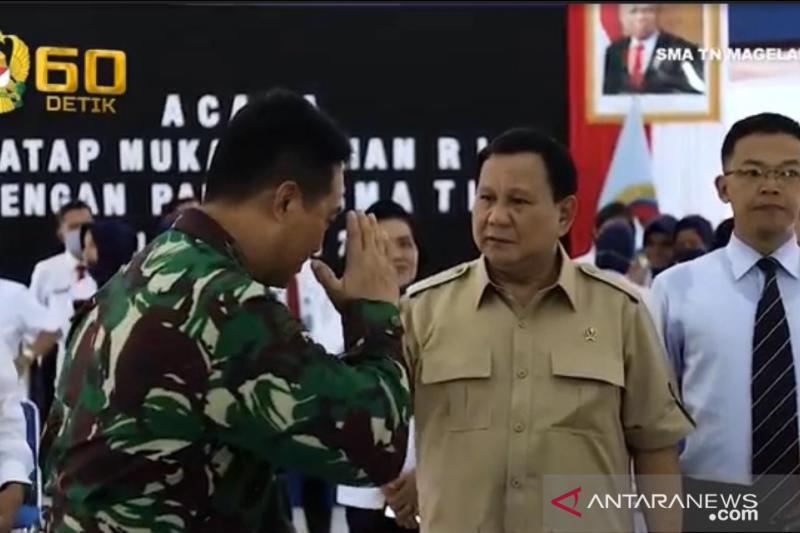 Titah Sakti Prabowo ke Jenderal Andika Bikin Gemetaran