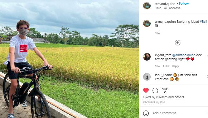 Anak Sulung Farah Quinn Makin Ganteng Aja, Milenial Idola Banget