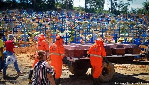 Brasil Tak Berdaya, Kematian Makin Mengerikan Akibat Virus Corona