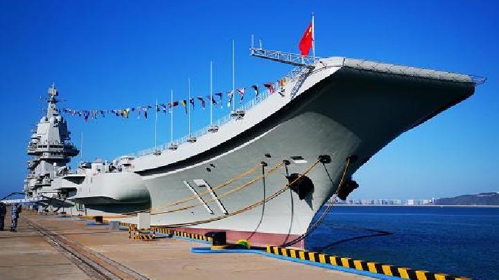 Kapal induk China , Shandong. Foto: CCTV