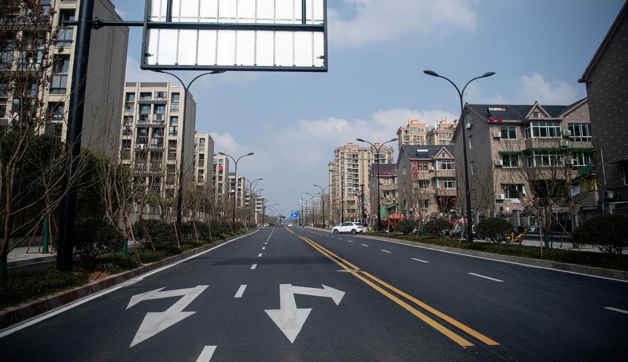 Suasana kota di China usai lockdown. Foto: china daily