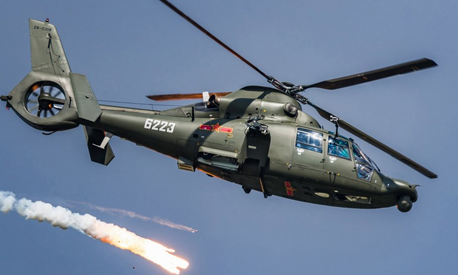 Helikopter Z-9 China. Foto: People's Liberation Army Navy