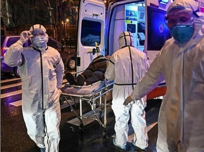 Pasen Corona di New York. Sumber instagram.com/coronavirus.ny.news/