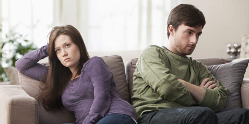 Ilustrasi pasangan bertengkar. Foto: Shutterstock