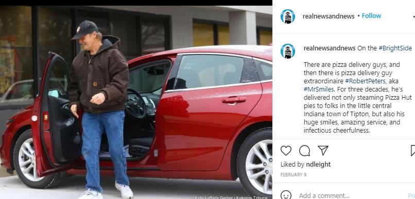 Baik Banget! Pelanggan Beri Tip Mobil Merah Buat Pengantar Piza