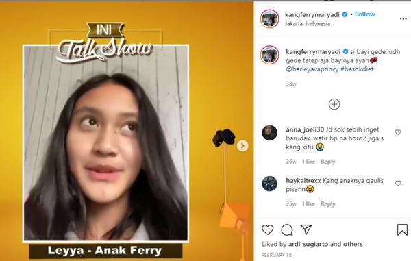 Anak Sambung Deswita Maharani Cantik Jelita dan Suka Musik