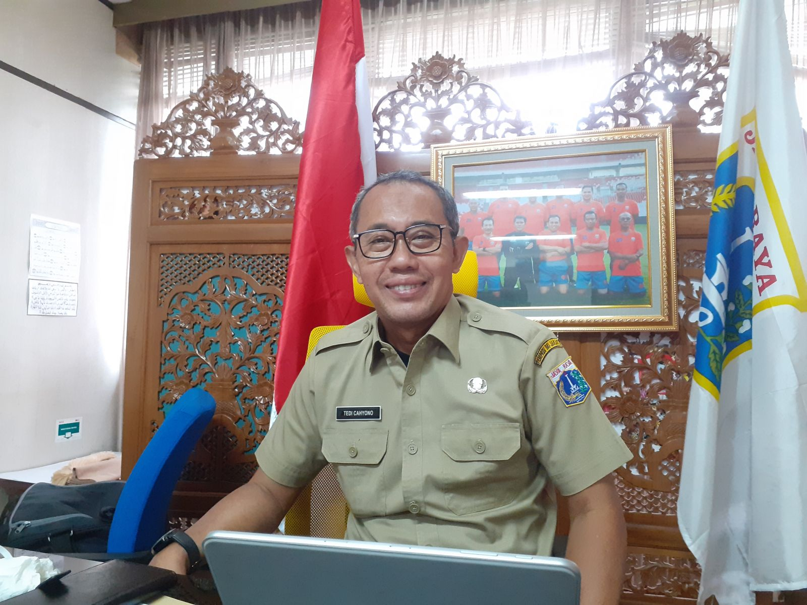 Kepala Suku Dinas Pemuda dan Olahraga Jakarta Pusat, Dr. Tedy Cahyono, M.Pd. Foto: Andri Bagus/GenPI.co