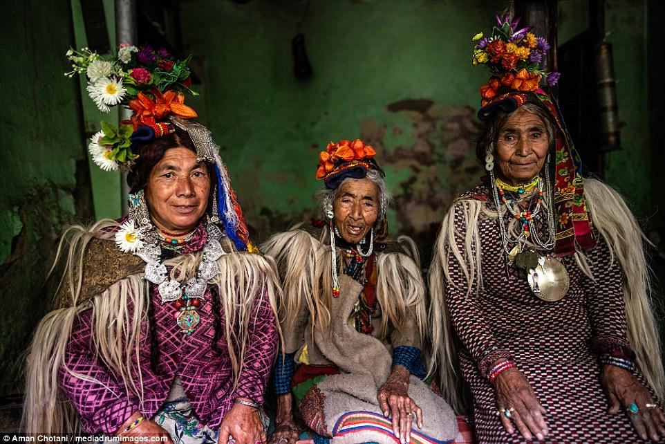 Ilustrasi Suku Drokpa. Foto: dailymail