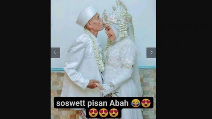 Abah Sarna cium kening Noni. Foto: Facebook/Ririn Priyanti
