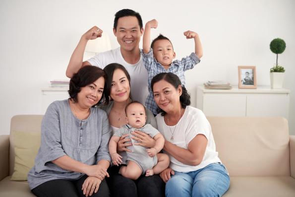 Ilustrasi keluarga bahagia. Foto: Freepik