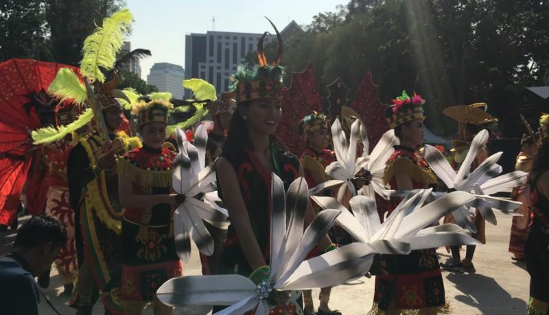 Jakarta Jadi Kota Penutup Festival Pesona Lokal 2019, ( foto : Mia Kamila )