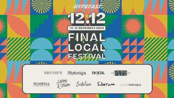 Harbolnas 12.12, Berburu Diskon Terbesar di Final Local Festival (Foto: Hypefast)