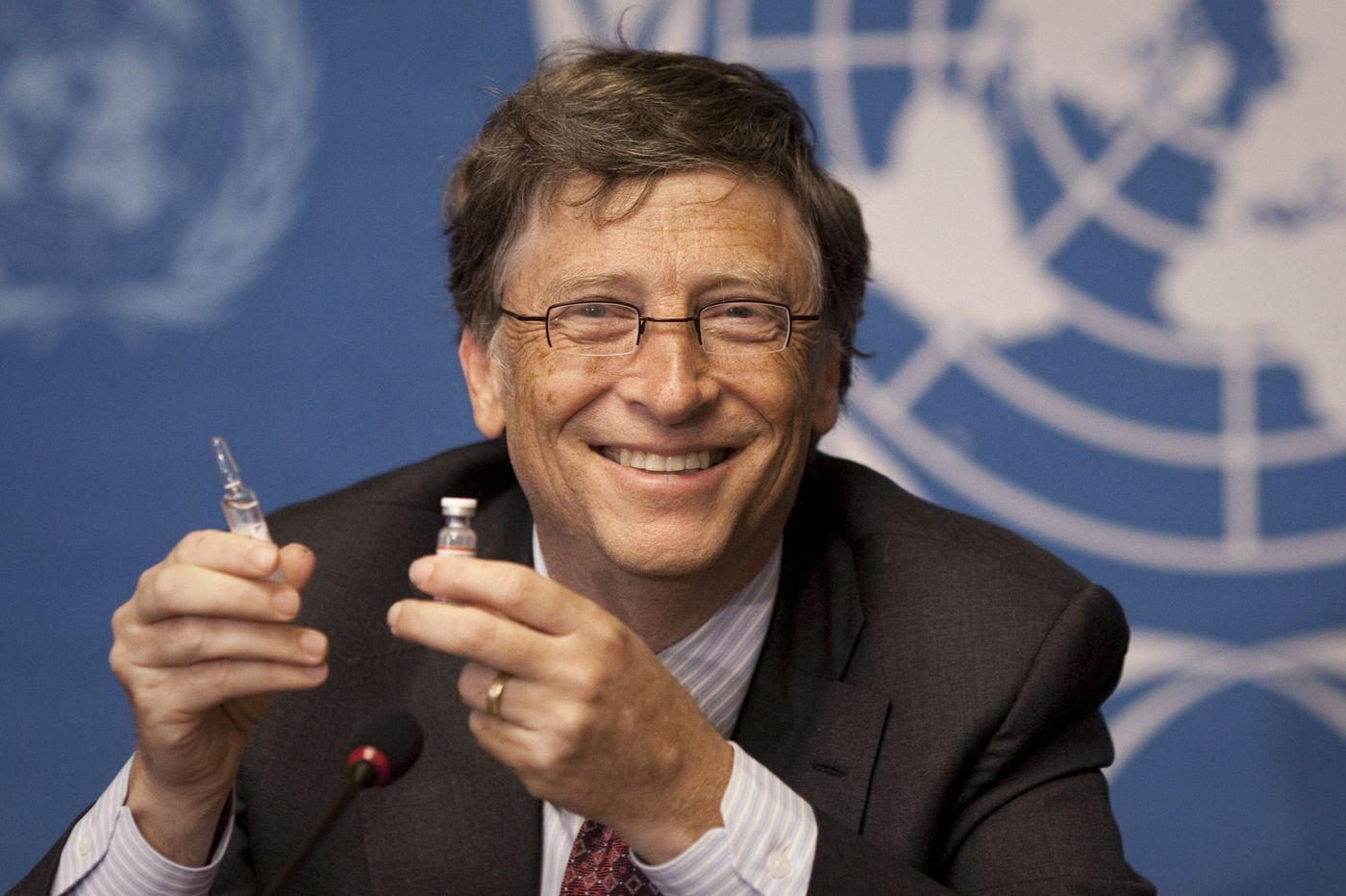Bill Gates. ANJA NIEDRINGHAUS / AP