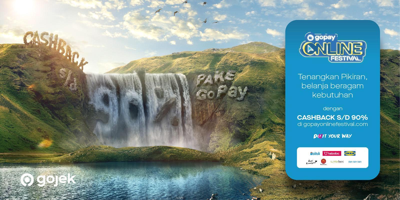 GoPay beri Cashback 90% di Harbolnas 11.11. Foto: GoPay