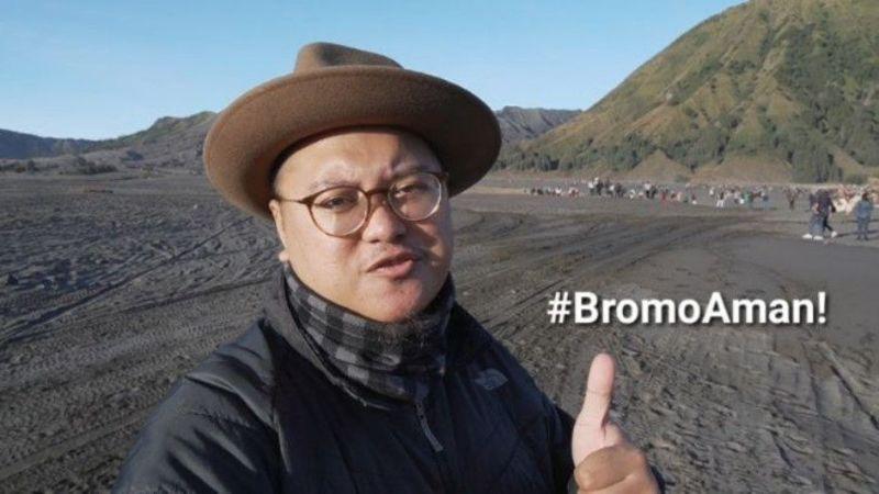 Panitia Jazz Gunung Bromo 2019, Bagas Indyatmono (foto: SC @jazzgunung)