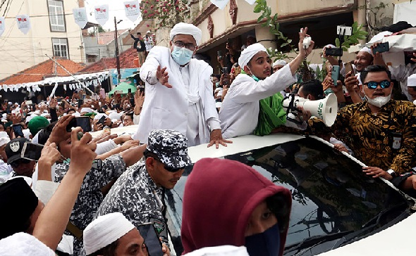 2 Tokoh Top Minta Habib Rizieq Ditangkap, Sebab Ceramahnya Ngeri (Foto: jpnn/GenPI.co)