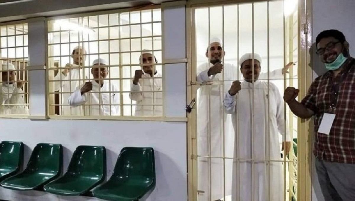 Dosen UI Sebar Foto Habib Rizieq di Balik Jeruji: Mereka Bahagia
