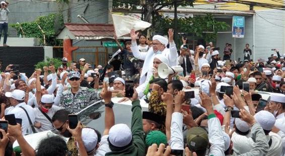 Pidato Habib Rizieq Bikin Tercengang, Istana Makin Tersudut