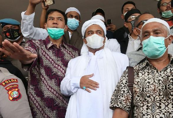 Di Pengadilan Habib Rizieq Mengaku Sangat Terkejut, FPI Ternyata (Foto: JPNN.com/GenPI.co)
