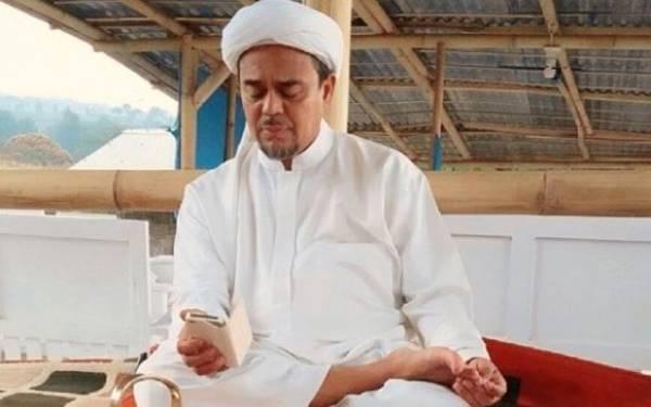 Habib Rizieq. Foto: Instagram dpp_fpi