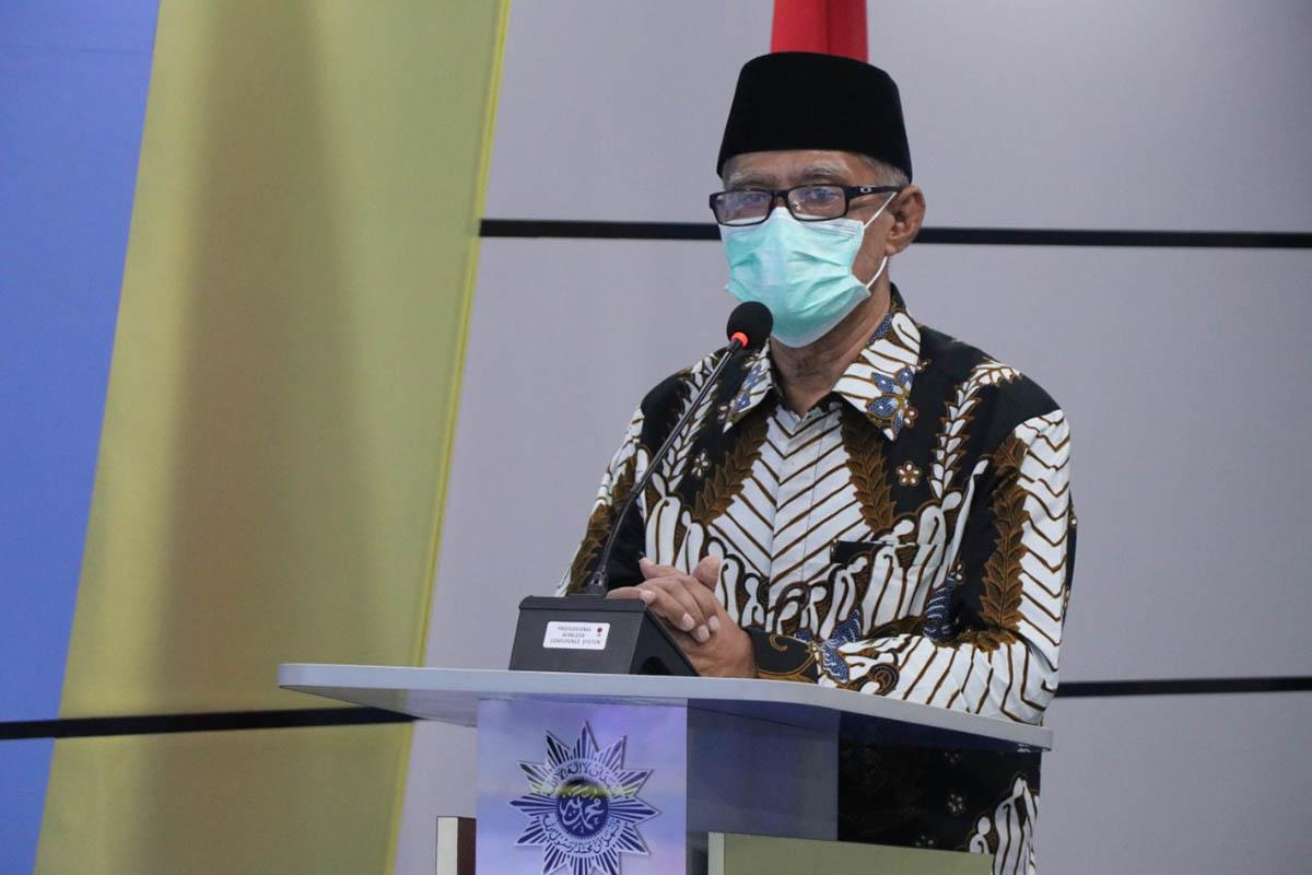 Ketua Umum PP Muhammadiyah Haedar Nashir.(FOTO: Humas PP Muhammadiyah)