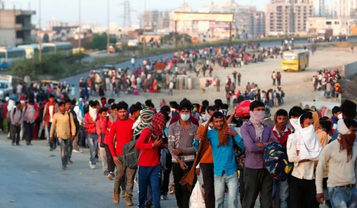 India Lockdown Virus Corona, Rakyat Miskin Langsung Telantar...